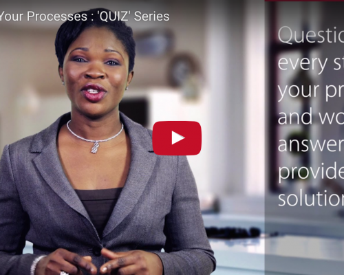 Question Your Processes : 'QUIZ' series