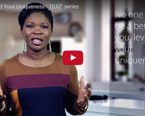Understand Your Uniqueness : 'QUIZ' series